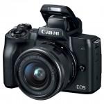 Беззеркальная фотокамера Canon EOS M50 поддерживает 4К-видеозапись